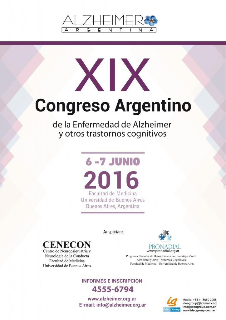 Congreso Alzheimer 2016