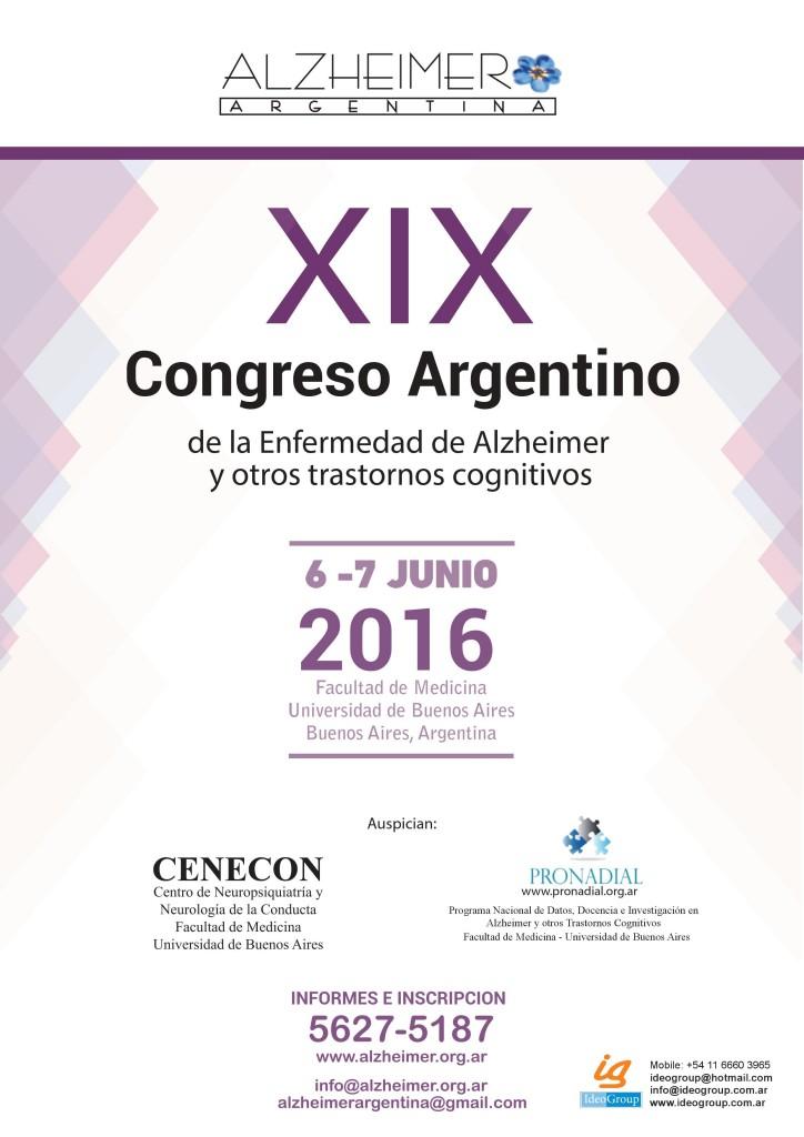Afiche Congreso 2016